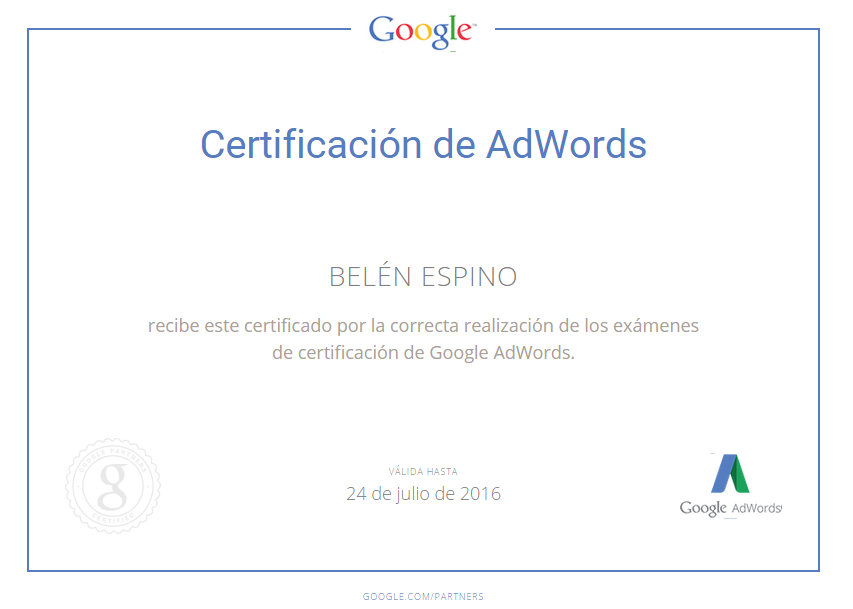 Adwords Belén Espino
