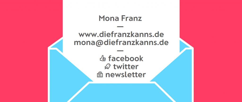 Mona Franz Flat Design