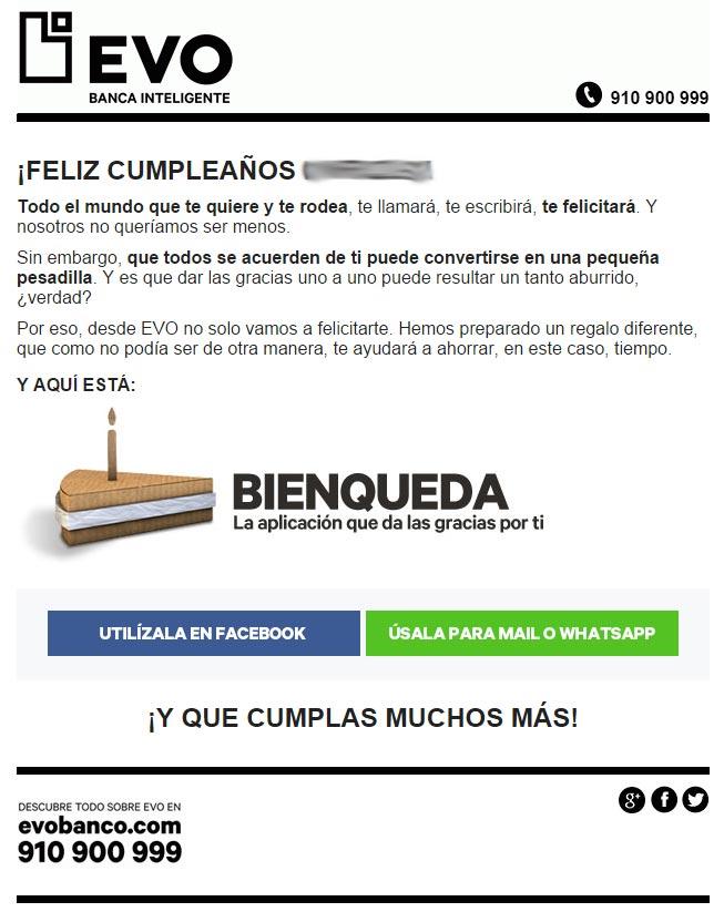 EVO cumpleaños